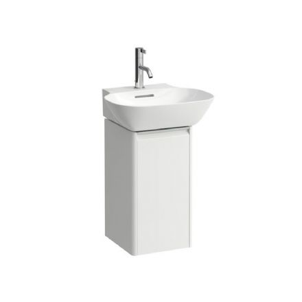 815301 - Laufen Ino 450mm x 410mm Washbasin & Base Vanity Unit (Left Hinge) - 8.1530.1